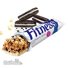 Fitness Μπάρα με Cookies & Κρέμα
